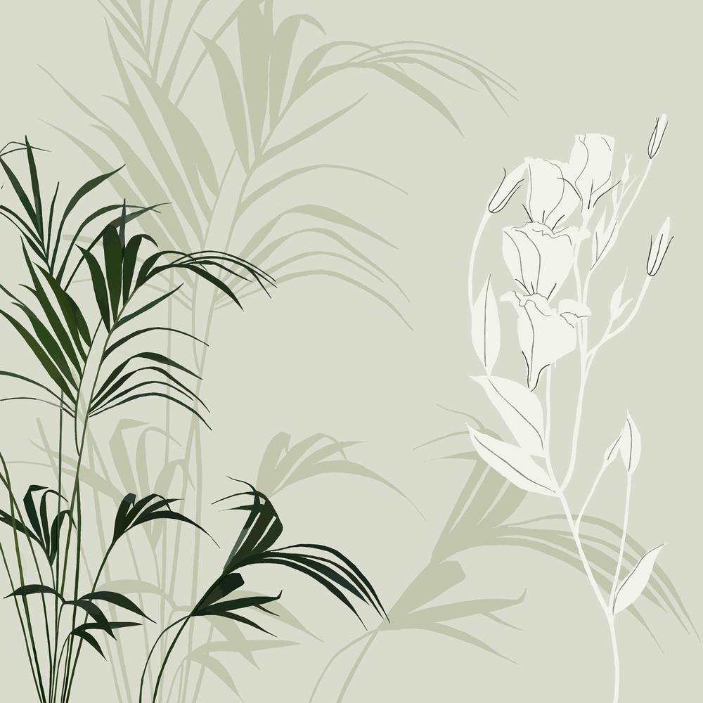 GRASS SILHOUETTE – Design Ref. 1658
