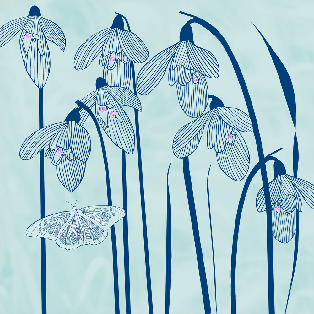 VISITING SNOWDROPS – Design Ref. 1792