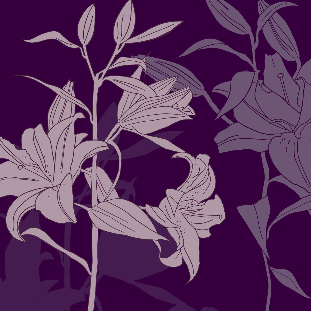LILY IN SHADOW – Design Ref. 1863