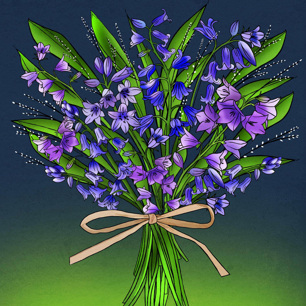 BUNCH OF BLUEBELLS – Design Ref. 2475