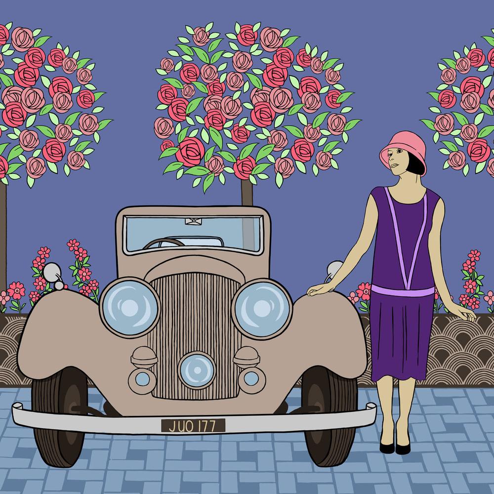 THE VINTAGE CAR – Design Ref. 2461
