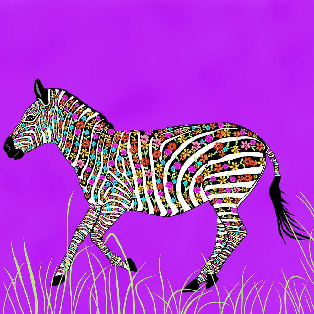 ZEBEDEE THE ZEBRA – Design Ref. 2541