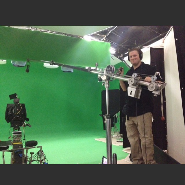 #sounddepartment #greenscreen #fisherboom