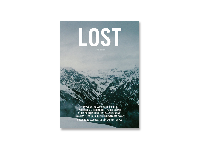LOST Magazine Issue 3