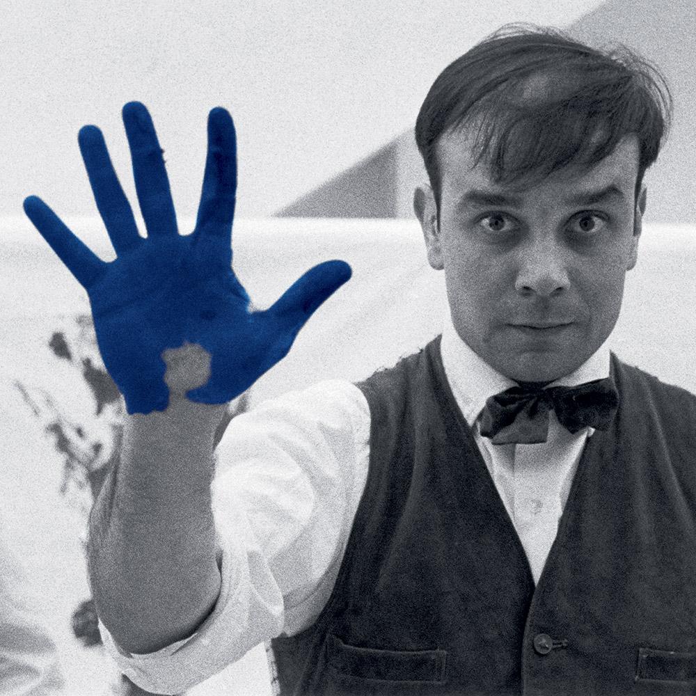 Yves Klein ,Charles Wilp, 1961