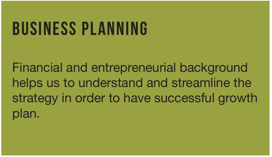 BUSINESS PLANNING ./