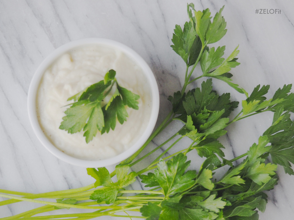 Cauliflower mash is a great low carb alternative to creamy mashed potatoes.