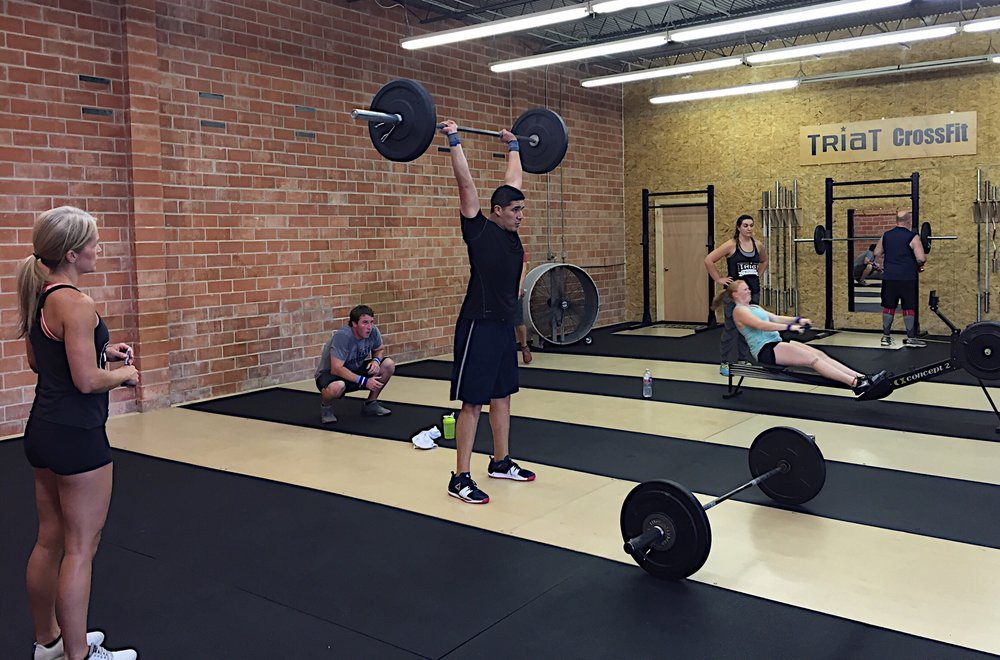 Final event of CrossFit Team Series going down