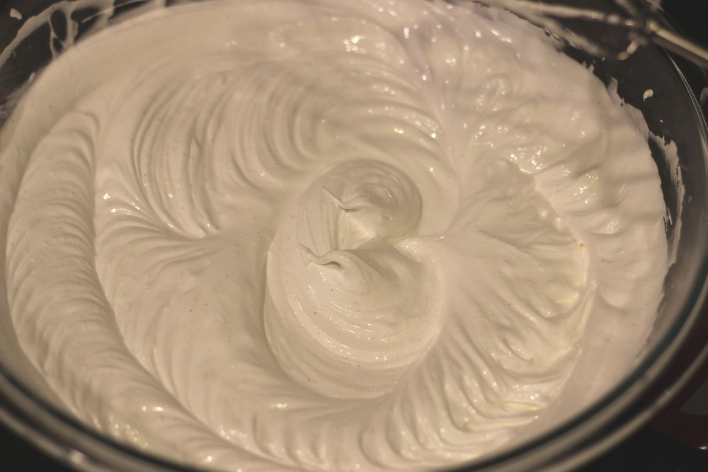 it's ready to bake when it is as thick as marshmallow creme