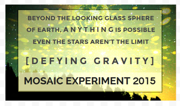 [defying gravity] Mosaic Experiment 2015