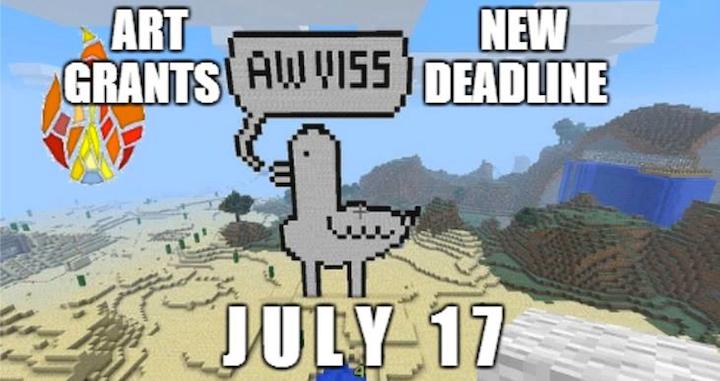 Art Grant Deadline Extended