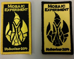 Mosaic Volunteer Patches