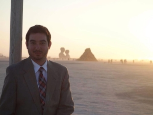 Joel Lam at Burning Man 2014