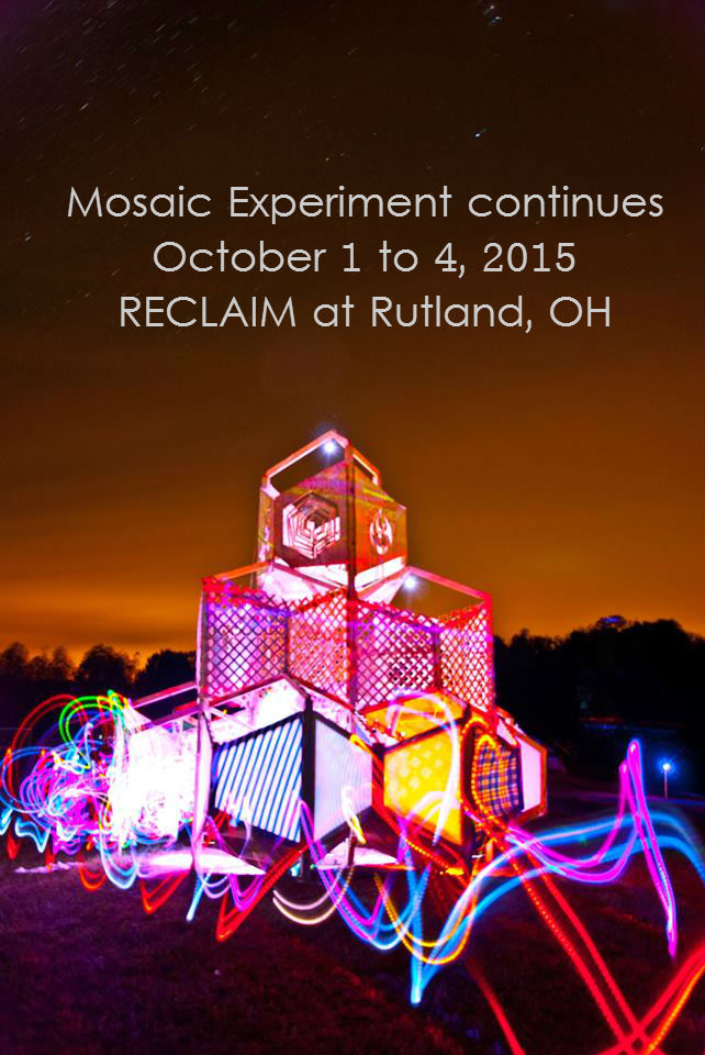 Mosaic Experiment 2015: October 1 to 4