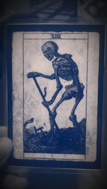 Death card. Photo by A