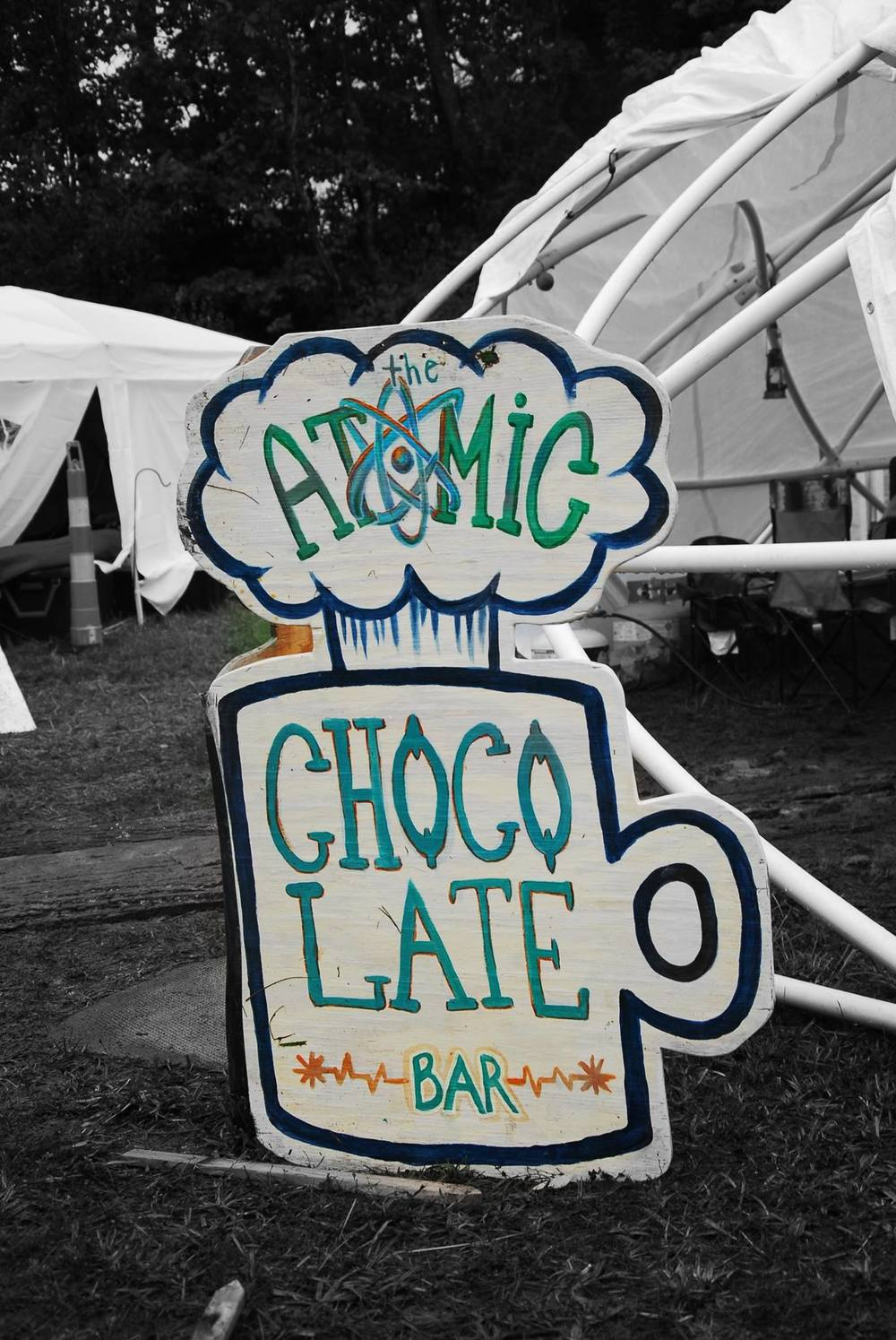 Atomic Chocolate Bar