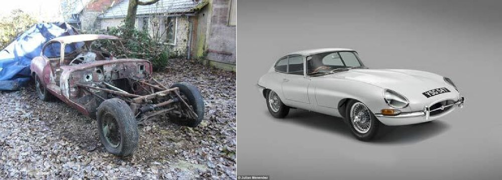 "Discuss your reaction to John sharing that the rusted out ""car"" (on the left) that is missing its engine and most of the body is worth more than 40k. What does this tell you about how worth and value is determined?"