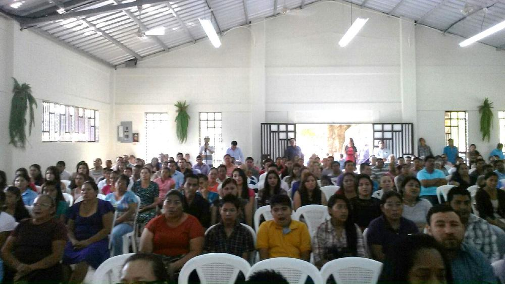 Church at Corinto, Dedication Sunday