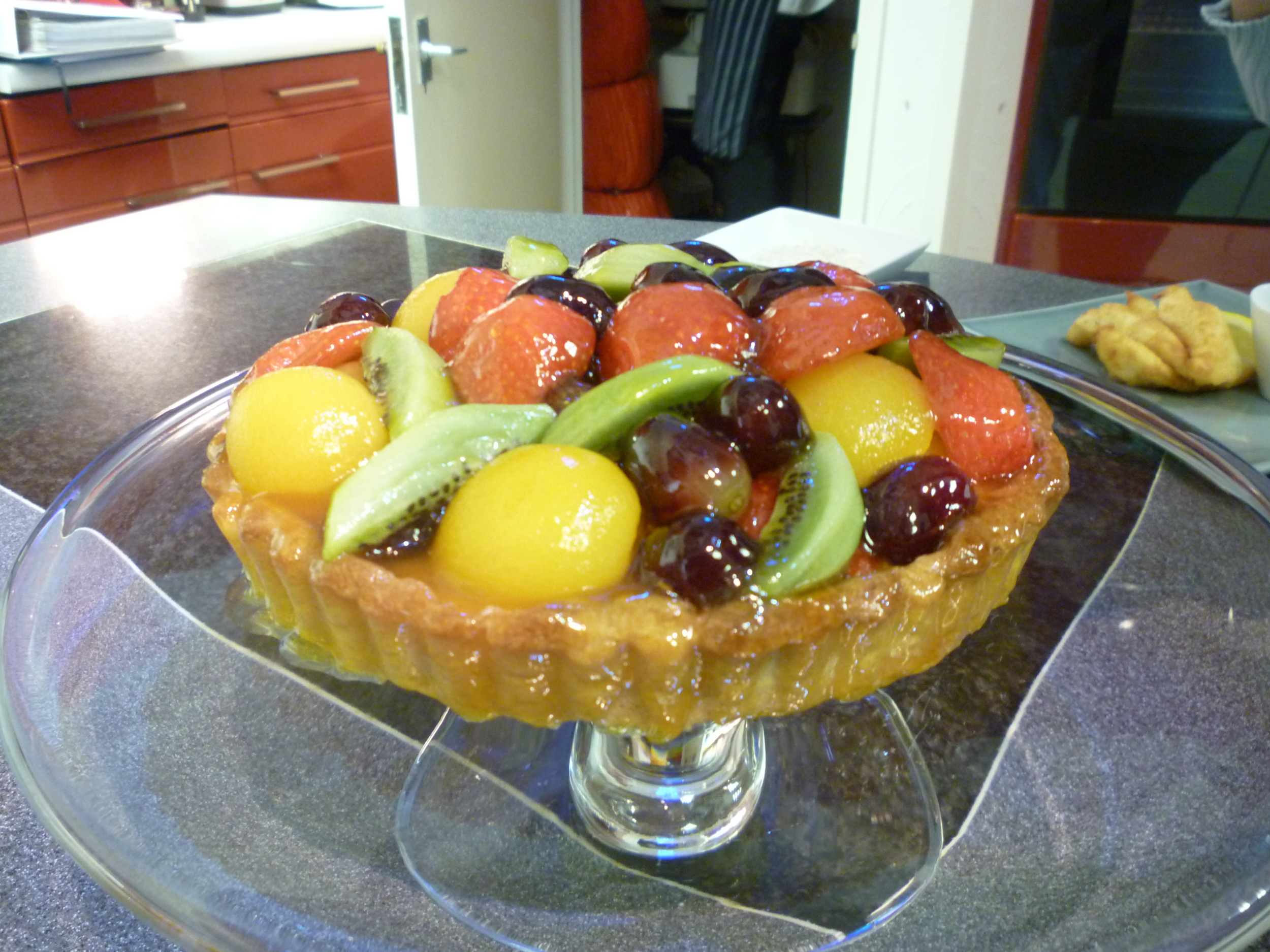 Tarte aux fruites which we'll be cooking ourselves next week