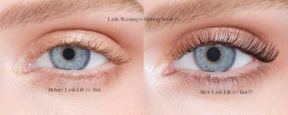 Lash Lift Waxing Tinting Breathing Space