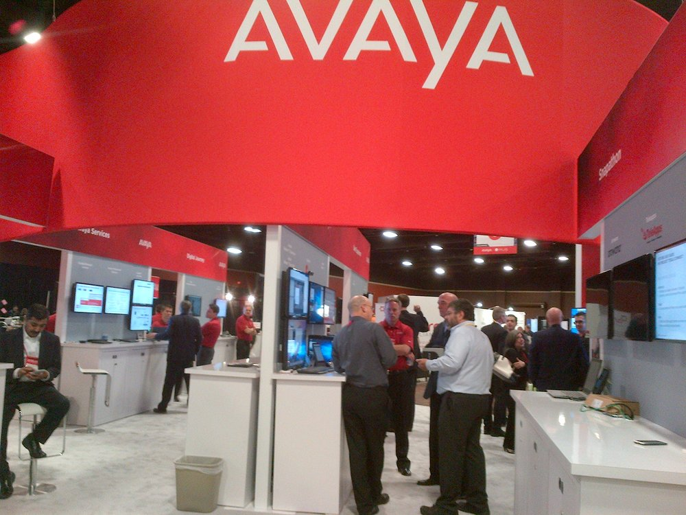 A few shots from the showcase and the Avaya pavilion