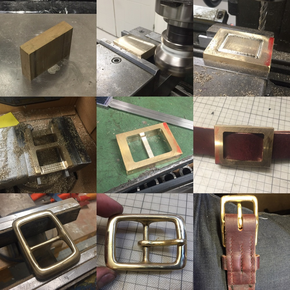 Belt buckle process