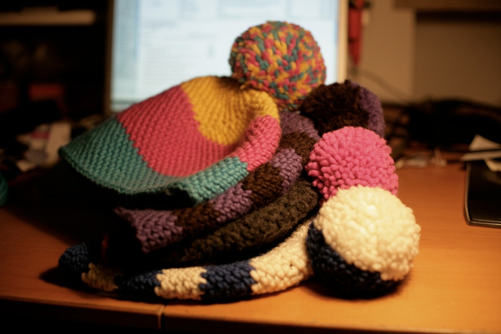 Woolen chrochet hats