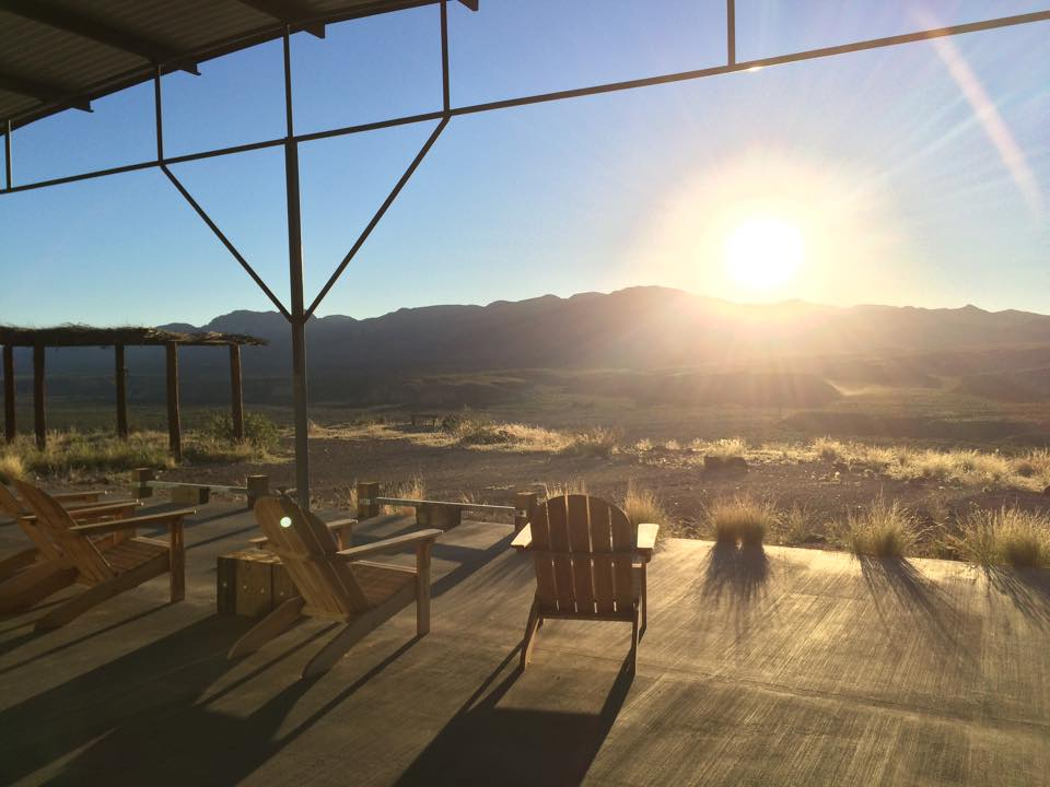 The view from atop the canyon, where I watched the sunrise and sunset. (Source: Jonathon M. Seidl)