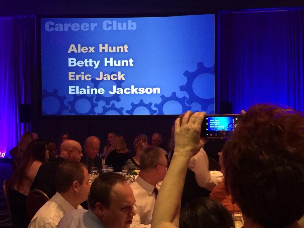 Career Club Award