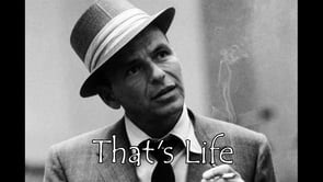 Sinatra knew it all along! (But please don't smoke...that's my PSA for the day!)