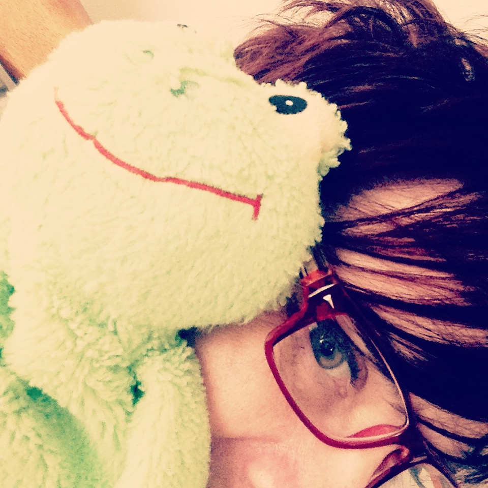 Me and the frog against the world...