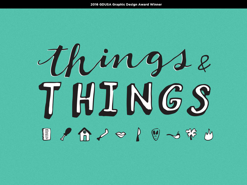 Things & Things    POSTER  | Illustration