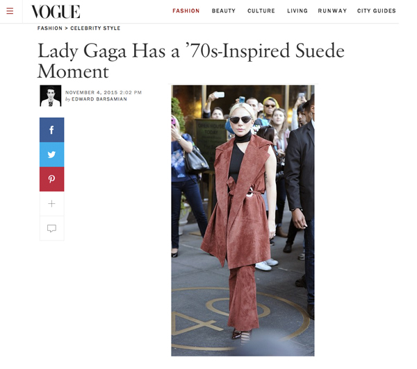 Vogue.com- Lady Gaga