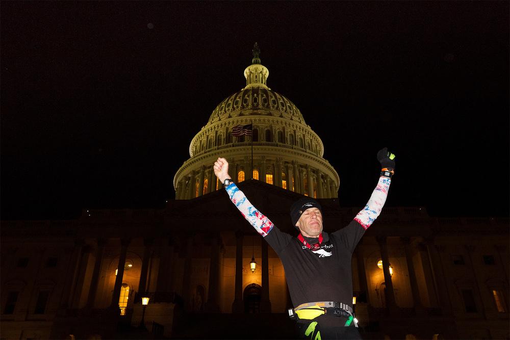 Gary Allen, Maine 2 DC Run