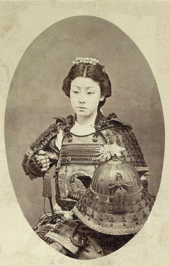 Photograph of Samurai Woman