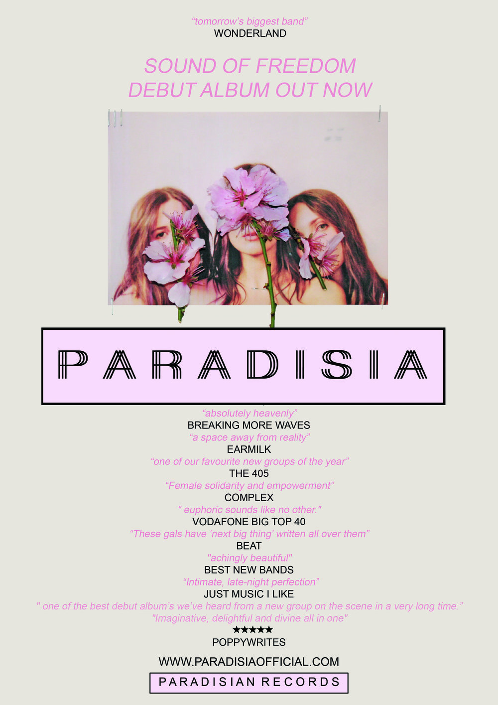 PARADISIA ALBUM POSTER 6 july 2017.jpg