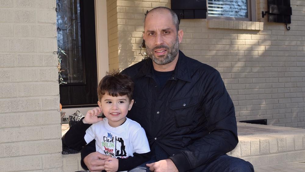 Jeff Viegas and son Sebastian