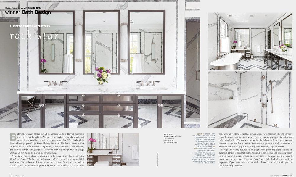 athome magazine, Winter 2015  athomefc.com