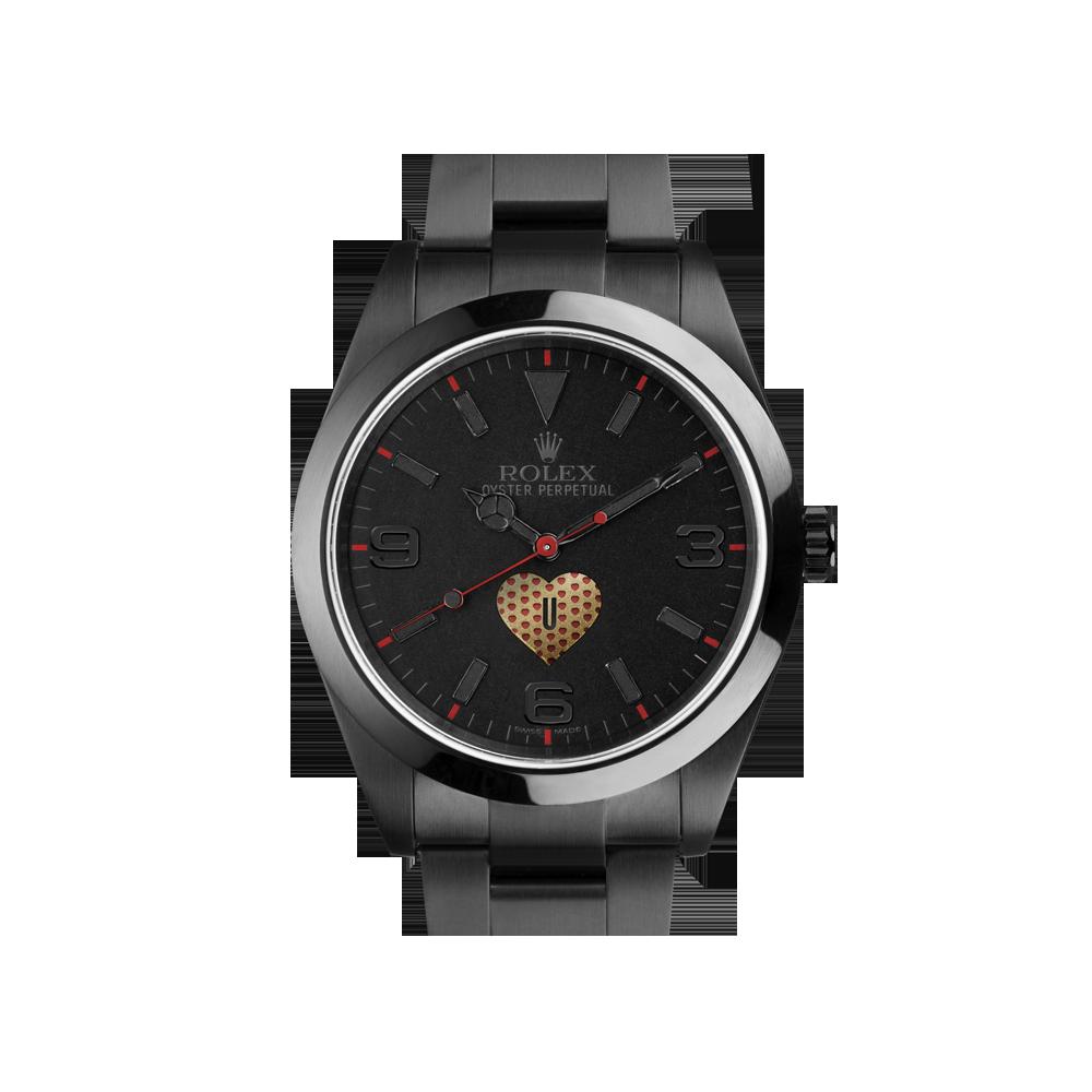 BWD limited Edition Valentines rolex watch - £10500.00