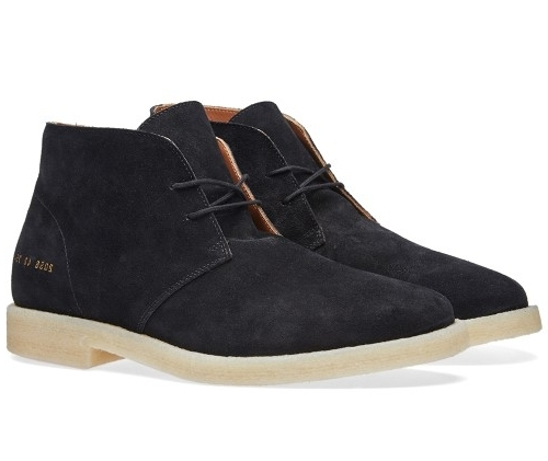 Common Projects Suede Chukka Boots -  £385.00