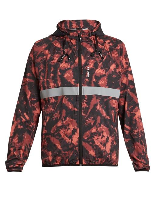 THE UPSIDE Ultra tie-dye print running jacket -  £125.00