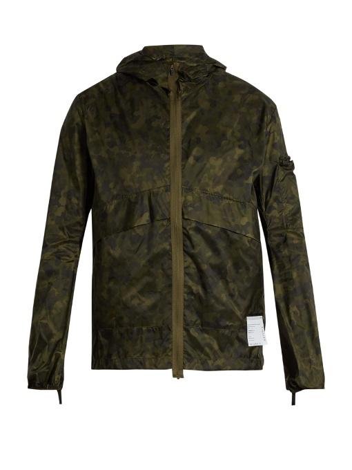 SATISFY Self-stowing shell windbreaker jacket - £355.00