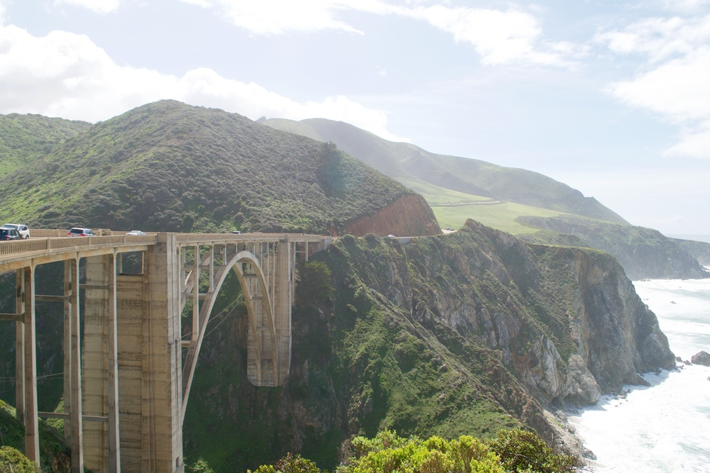 Bixby Bridge - crossing it was scary AF guys!