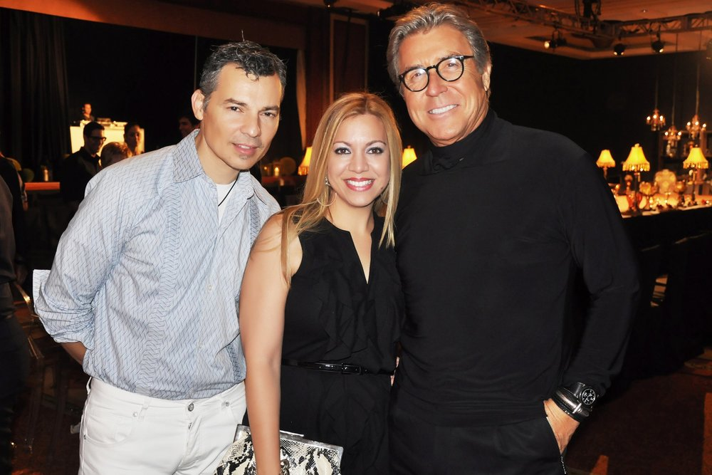 From the left: Gustavo Arango, Larissa Vázquez Zapa and Nono Maldonado. (Proviced Picture)
