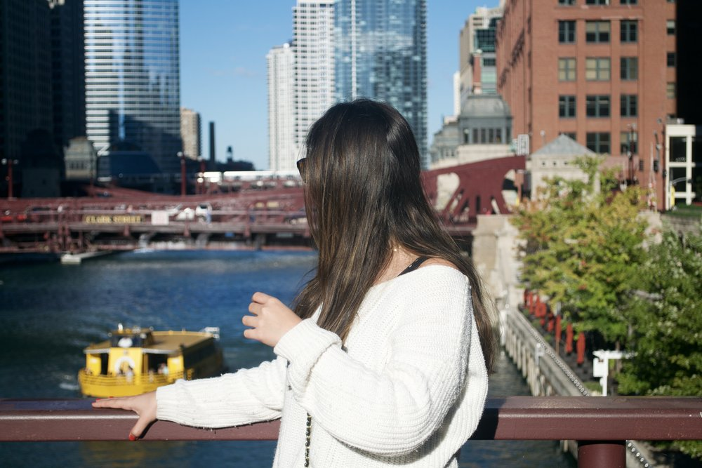 chicago river blogger