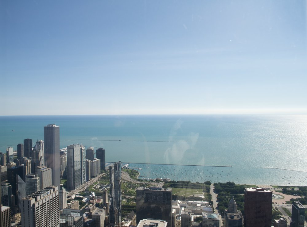 The view from the Willis Tower -