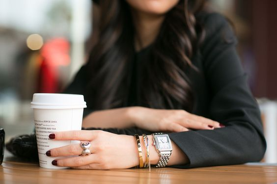 Photo Cred:  Wendy's Lookbook  |  Watch  | Similar bracelets  here ,  here  and  here .