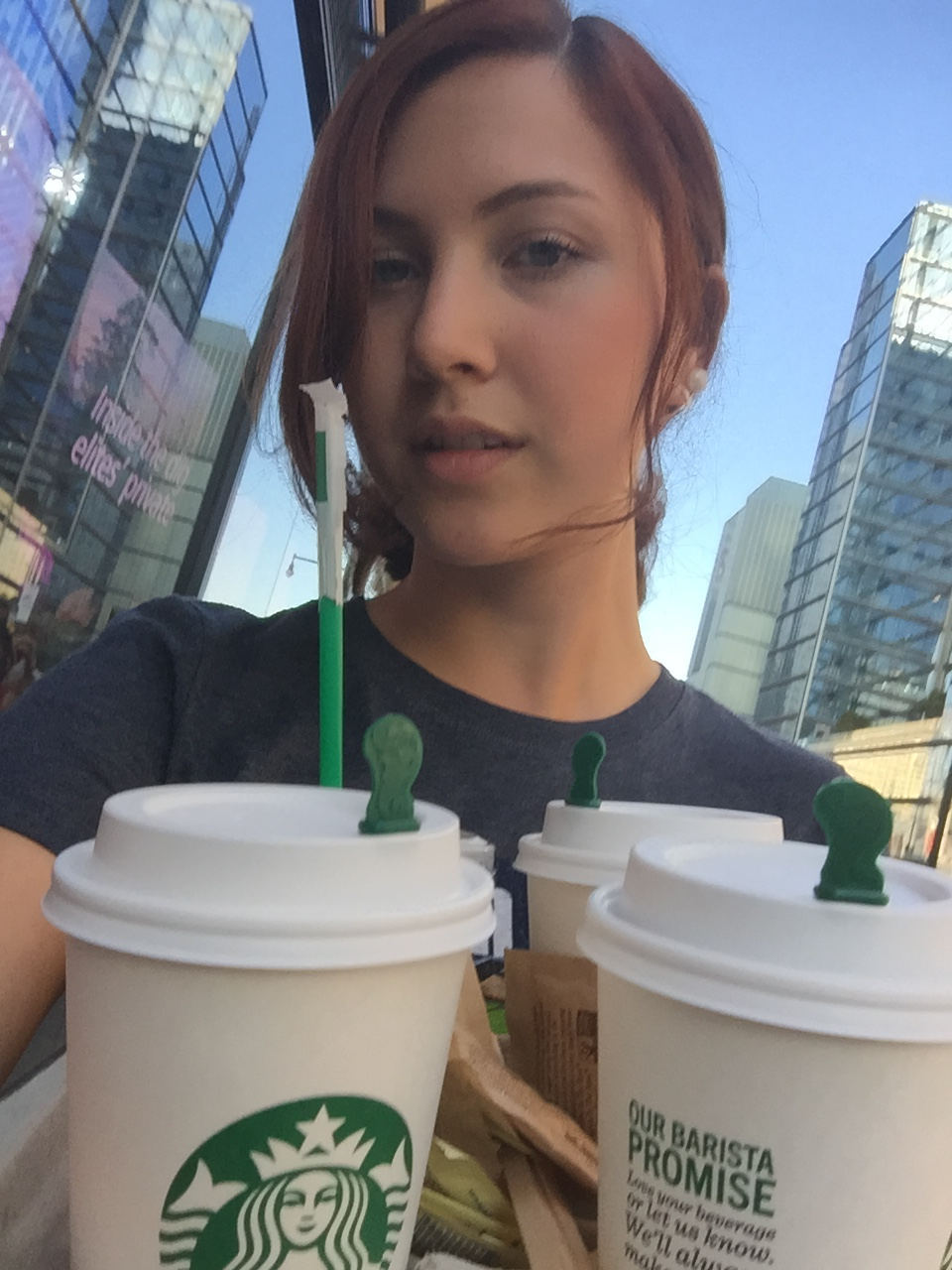 starbucks fashion intern
