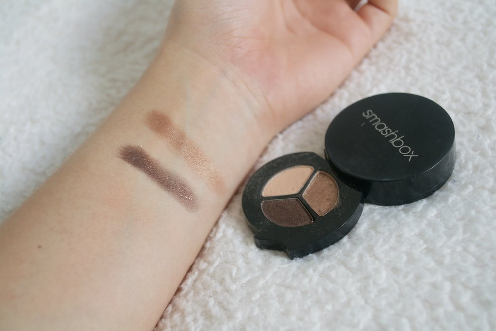 smashbox photo op eyeshadow trio swatches