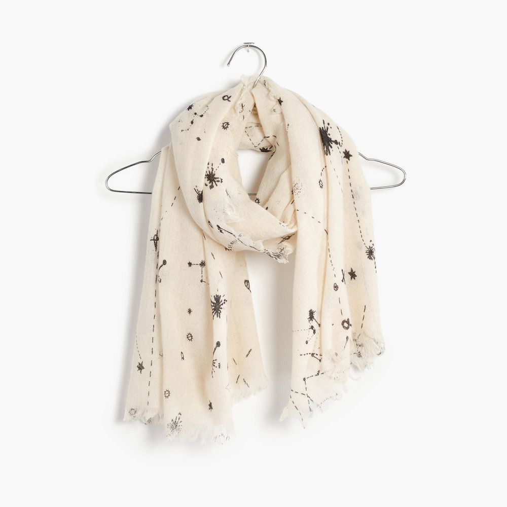 madewell constellation scarf
